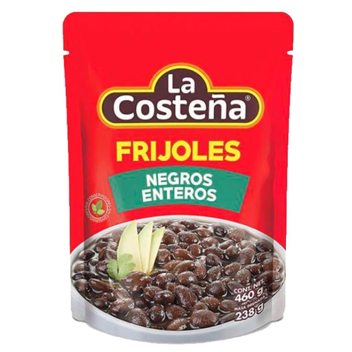 La Costeña. Whole Black Beans (Pouch) 460g
