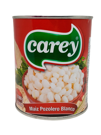 Corn grains for Pozole CAREY Can 860 g