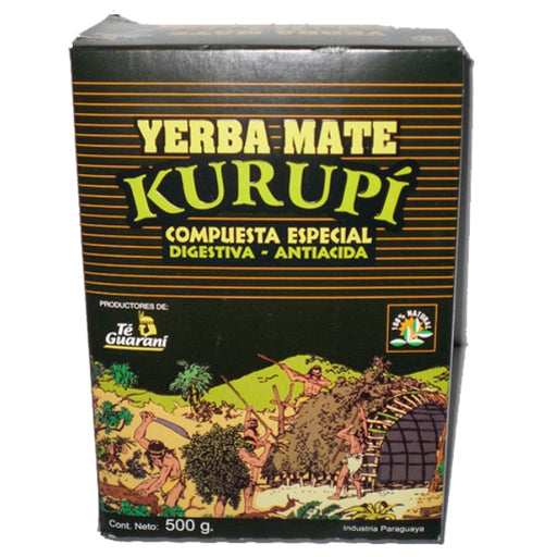 Yerba Mate / Kurupí composed with herbs; 500 g