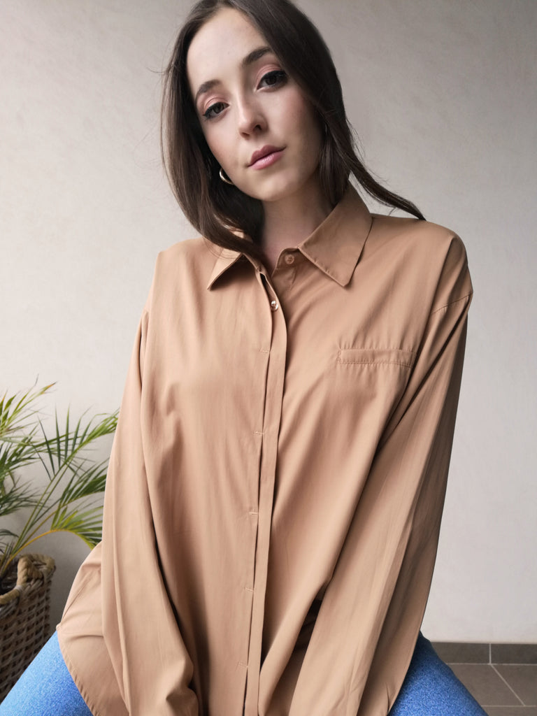 'Cotta' Cotton Shirt