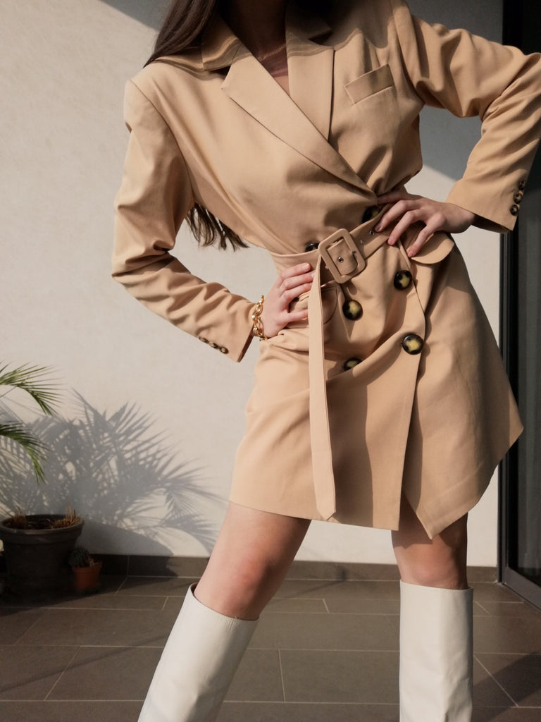 'Butter' Blazer Dress
