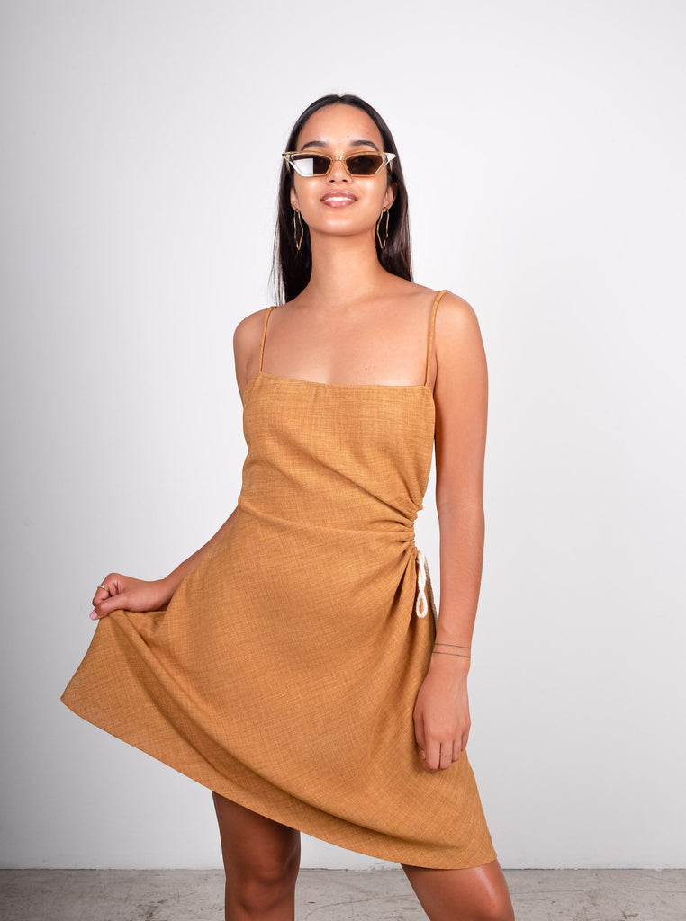 'Sunny' Linen Dress