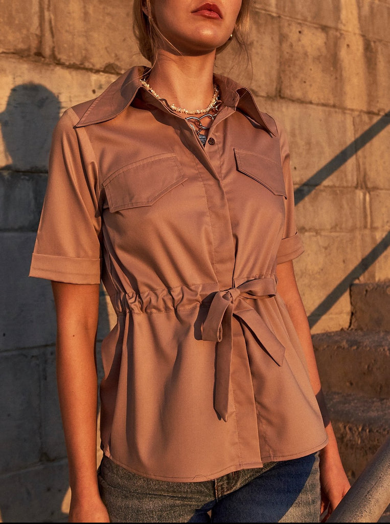 'Cove' Silk-blend Shirt
