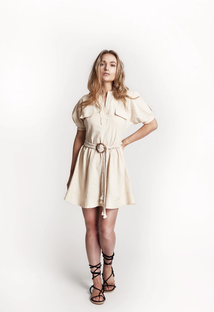 'Savannah' Linen Dress