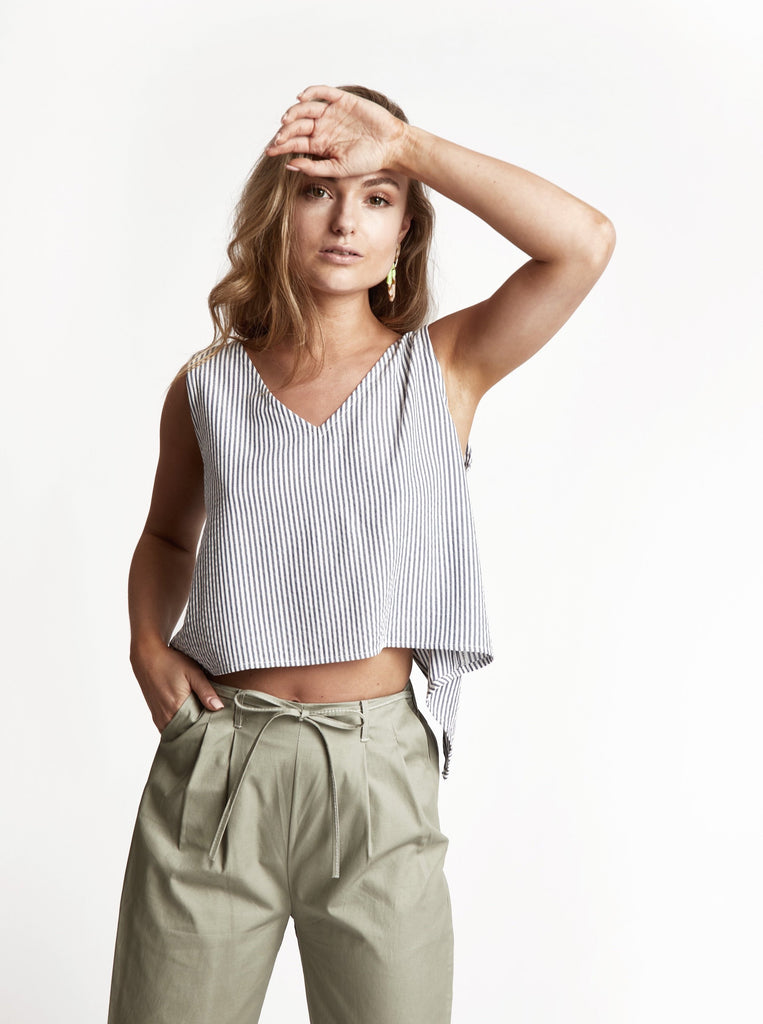 'Isle' Cotton Top