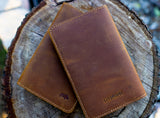 "Lord & Field ""Trail Notes"" Leather Notepad"
