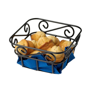 Mini Bread Basket - Black Scroll - 50% Off