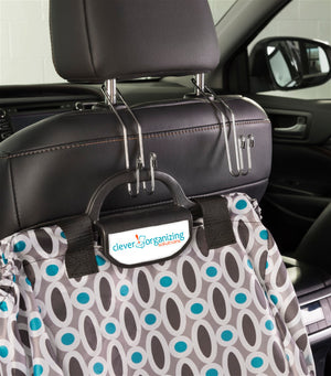Cargo Pockets - Bright Lights + Hang-Tough Headrest Hooks - Bundle