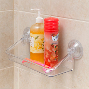 Clear Bath Shelf