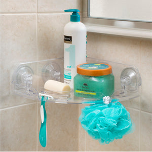Clear Corner Shelf - 75% OFF