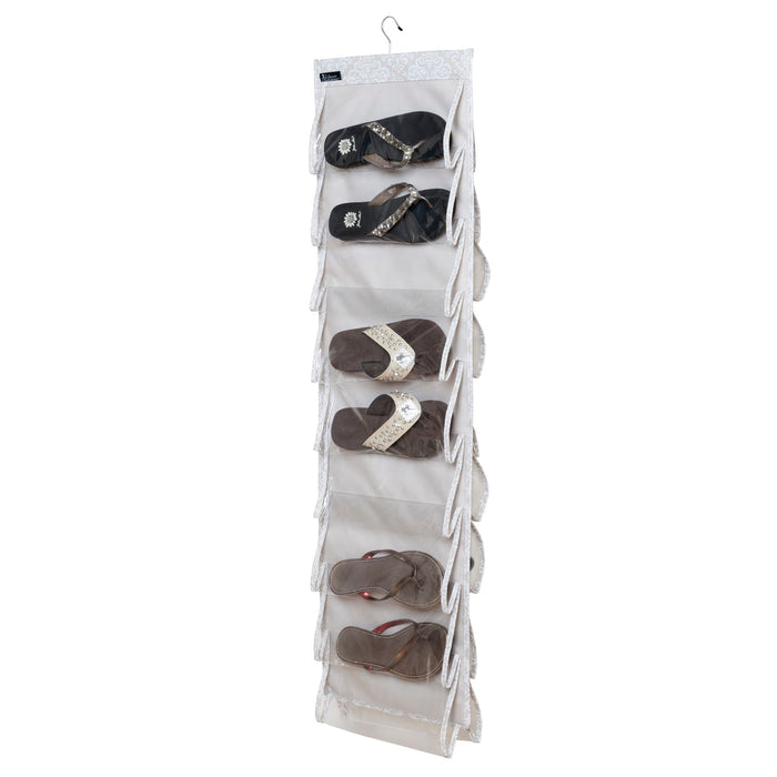 Flip Flop Cubby - Diamond Damask - 75% OFF