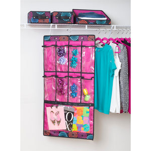 Hanging Pocket Cubby - Bright Lights
