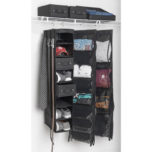 16-Pocket Cubby - Black