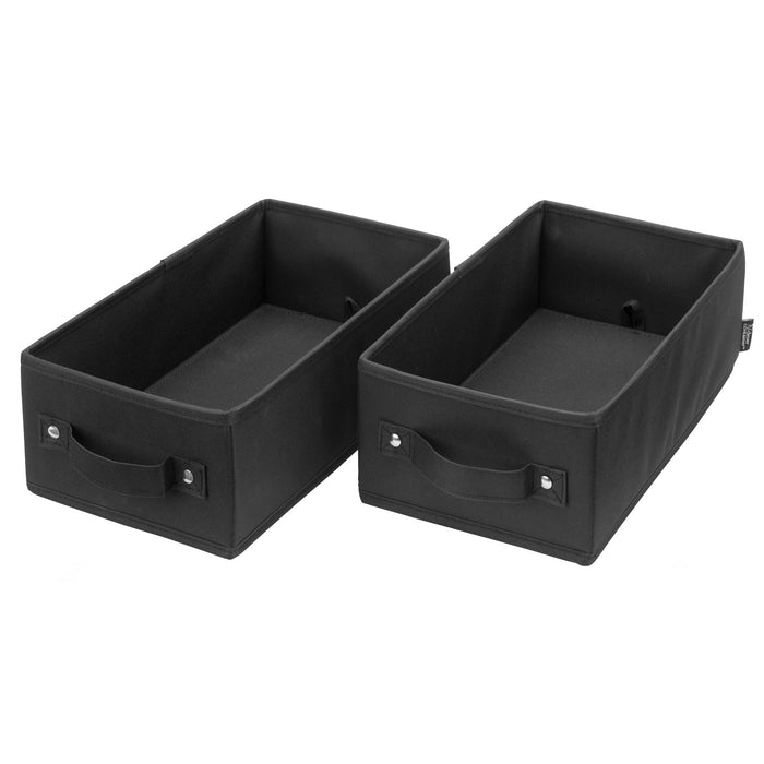 Handle It Bins - Set of 2 - Black
