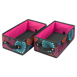 Handle It Bins - Set of 2 - Bright Lights