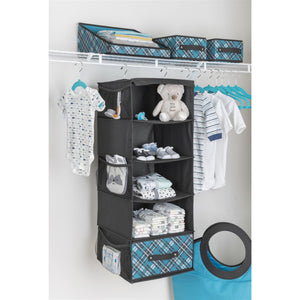Youth Space-Saving Hangers - Set of 10 - Teal - 75% OFF