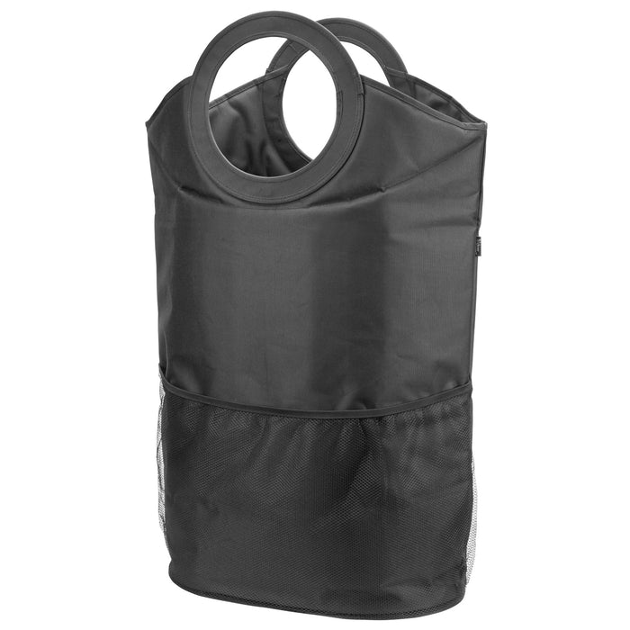 Laundry Hamper and Tote - Black