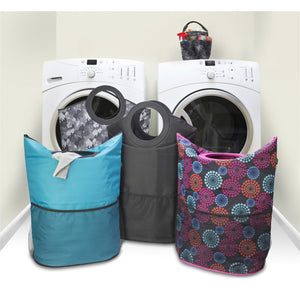 Laundry Hamper and Tote - Black - Holiday Special
