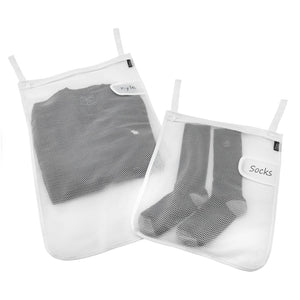 Mesh Wash Bags - Set of 2