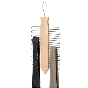 Vertical Tie Hanger - Hooked On Organizing - Up to 60% OFF