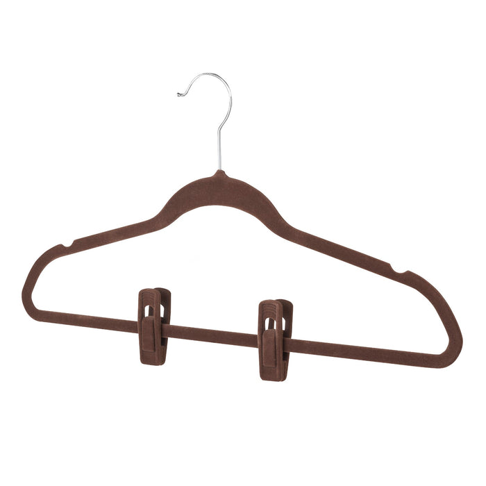 Hanger Clips - Set of 12 - Chocolate