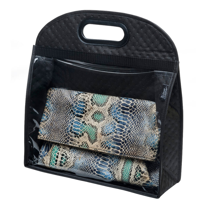 Classy Quilted Window Bag - Small