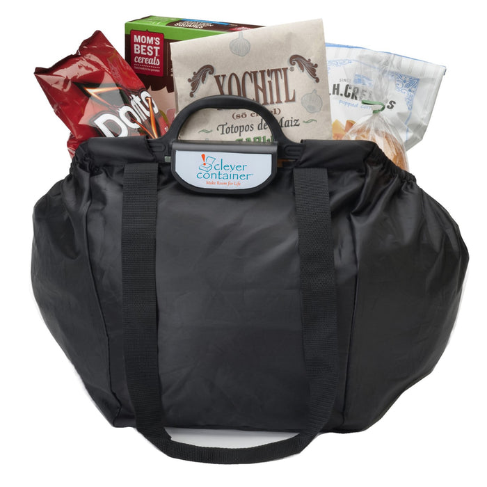 Shopping Cart Bag - Clever Shopper - Black