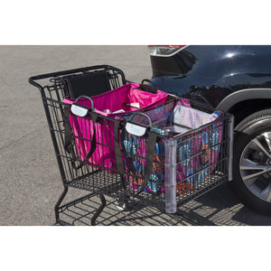 Shopping Cart Bag - Clever Shopper - Bright Lights
