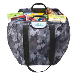 Shopping Cart Bag - Clever Shopper - Camouflage - Holiday Shopper Special - $7
