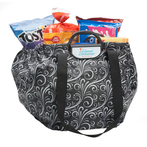 Shopping Cart Bag - Clever Shopper - White Waves - Buy One Get One  Free - Limited Time