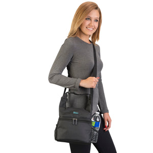 Pack and Snack Bag - Black - 75% OFF