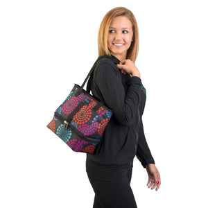 Let's Do Lunch Tote - Bright Lights - Clever Fresh Special - 60% OFF