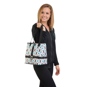 Let's Do Lunch Tote - Modern Links - Clever Fresh Special - 60% OFF