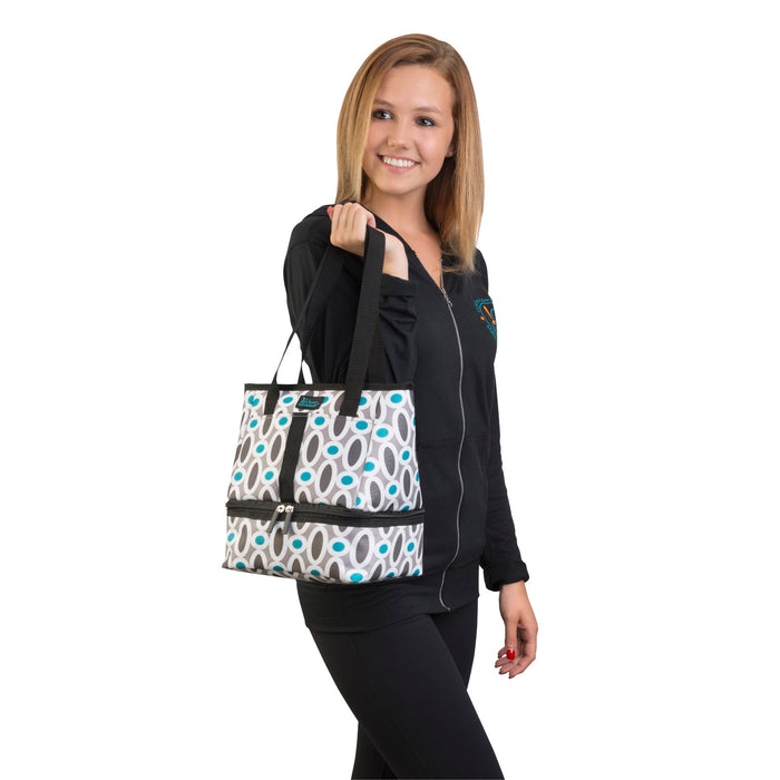Let's Do Lunch Tote - Modern Links - 75% OFF