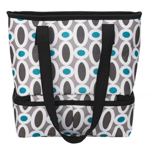 Let's Do Lunch Tote - Modern Links