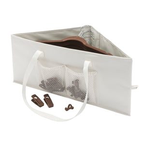Hanger Container - Cream - 75% OFF