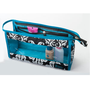 Two-Piece Travel Set - Damask with Teal