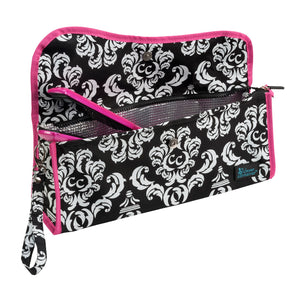 Hot-To-Cool Pouch - Damask with Pink