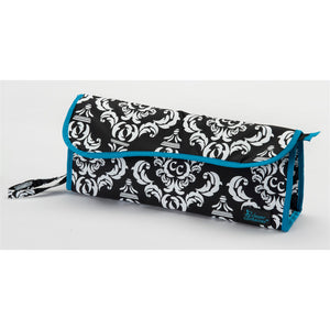 Two-Piece Travel Set + Hot To Cool Pouch - Damask with Teal - Bundle