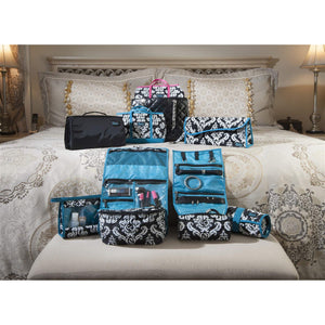 Hot-To-Cool Pouch - Damask with Teal