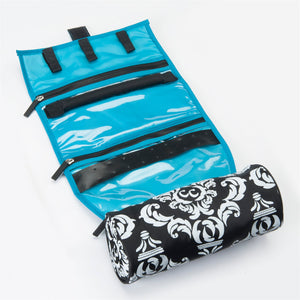 Hot to Cool Pouch + On a Roll - Damask Teal - Bundle