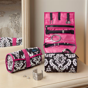 On A Roll - Damask with Pink - 75% OFF