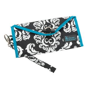 Zip It Up - Damask + See It Through - Damask/Teal - Bundle