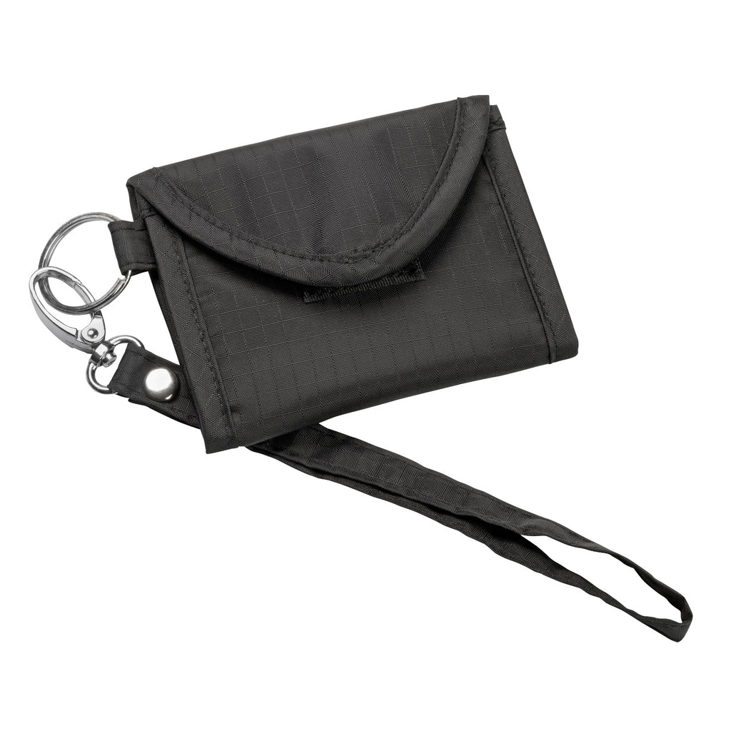 Card Keeper Keychain - Black