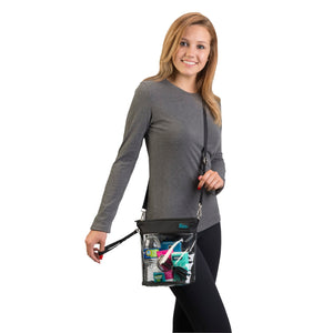 Now You See It - Crossbody Bag - Black