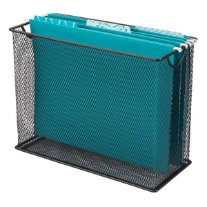 Mesh File Holder - Black