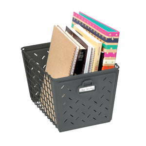 Locker Basket - Matte Gray - 75% OFF