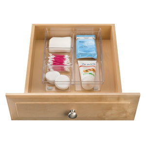 4-Compartment Clear Tray - Clearly Organized - 60% OFF