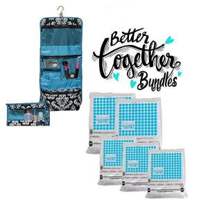 Clever Cache + Two-Piece Travel Set - Teal - Bundle
