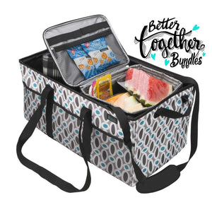 Keep It Cool Cooler + Cargo CarryAll - Modern Links - Holiday Bundle